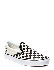UA Classic Slip-On - BLK&WHTCHCKERBOARD/WHT