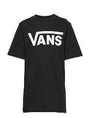 VANS CLASSIC BOYS - BLACK/WHITE