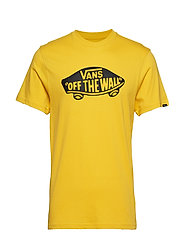 Mn Vans Otw T-shirts Short-sleeved Gul VANS