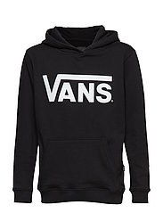 BY VANS CLASSIC PULL CmntHthr/Blk, Small - BLACK/WHITE