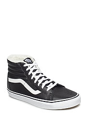 UA SK8-Hi - (LEATHER/FLEECE