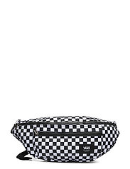 WARD CROSS BODY PACK - BLACK/WHITE CHECK