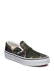 UY Classic Slip-On - (PLAID CAMO) GRAPE LEAF/T