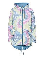MERCY REVERSIBLE PARKA - ORCHID