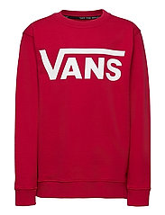 VANS CLASSIC CREW BOYS - CHILI PEPPER/WHITE