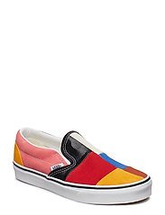 UA Classic Slip-On NEPTUNE, 10.5, Medium - (PATCHWORK) MULTI/TRUE WH