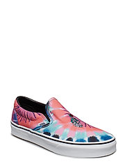UA Classic Slip-On NEPTUNE, 10.5, Medium - (TIE DYE) MULTI/TRUE WHIT