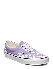 UA Era (CHECK FOXING), 10.5, Medium - (CHECKERBOARD) VIOLET TUL