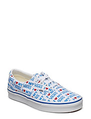 UA Era (CHECK FOXING), 10.5, Medium - (I HEART VANS) TRUE WHITE