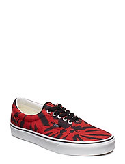 UA Era (CHECK FOXING), 10.5, Medium - (TIE DYE) TANGO RED/TRUE
