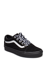 UA Old Skool - (CHECK LACE) BLACK/BLACK