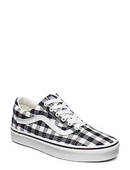 UA Old Skool - (GINGHAM) BLACK/TRUE WHIT