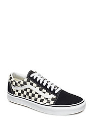 UA Old Skool - (PRIMARY CHECK) BLK/WHITE
