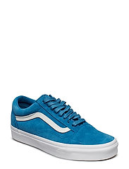 UA Old Skool - (SOFT SUEDE) BLUE SAPPHIR