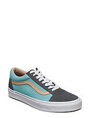 UA Old Skool - (TEXTURED SUEDE) PEWTER/A