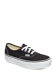 UA AUTHENTIC PLATFOR Black, 8, Medium - BLACK