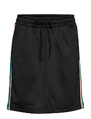 CALI NATIVE TRACK SKIRT - BLACK