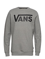 VANS CLASSIC CREW II - CEMENT HEATHER-BLACK