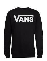 VANS CLASSIC CREW II - BLACK-WHITE
