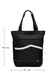 VANS - CONSTRUCT TOTE - shoppers - black/white - 4