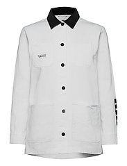 MAKE ME YOUR OWN DRILL CHORE COAT - WHITE