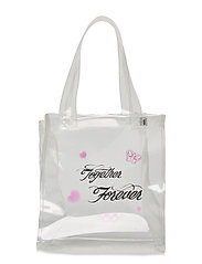 TOGETHER FOREVER MINI TOTE - CLEAR