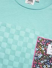 VANS - Top Womens Alpha - t-shirts - (liberty fabric)aqua haze - 2