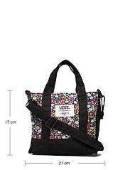 VANS - Bags Womens One - tote bags - (liberty fabric) black - 4