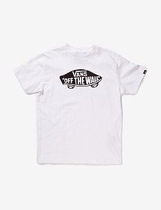 OTW BOYS - short-sleeved t-shirts - white/black