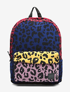 DEANA III BACKPACK - LEOPARD PATCHWORK