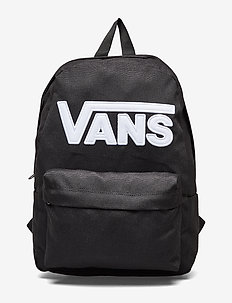 NEW SKOOL BACKPACK BOYS - reput - black/white