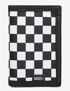 SLIPPED - lommebok - black/white check