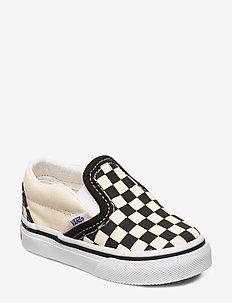 Shoe Toddler Numeric Width - BLK&WHTCHCKERBOARD/WHT