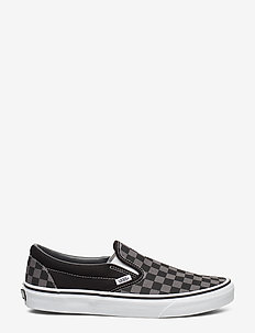 UA Classic Slip-On - laag sneakers - black/pewter checkerboard