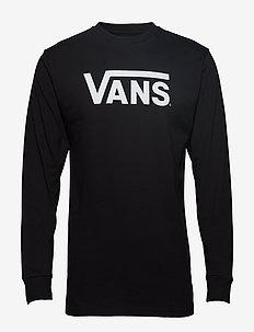 VANS CLASSIC LS - longsleeved tops - black/white