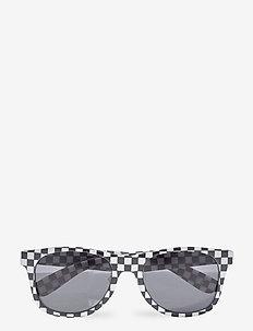 SPICOLI 4 SHADES - lasit - black/white check/flame