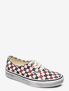 UA Authentic - low tops - (washed)drsbls/chl pepper