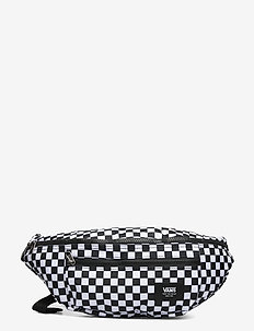 WARD CROSS BODY PACK - sacs banane - black/white check