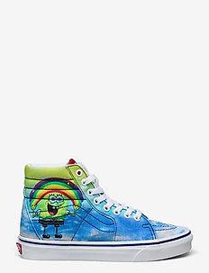 Shoe Adult Unisex Numeric Wid - hoog sneakers - (spongebob) imaginaaation