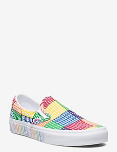 UA Classic Slip-On - baskets slip-ons - (pride) multi/true white