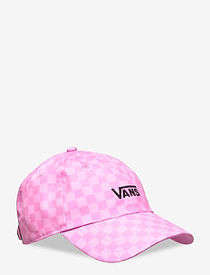 COURT SIDE PRINTED HAT - kasketter - fuchsia pink checkerboard