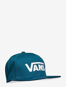 DROP V II SNAPBACK - flat caps - moroccan blue