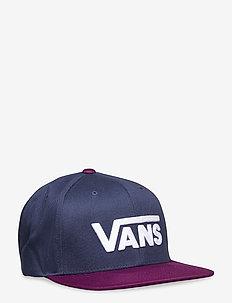 DROP V II SNAPBACK - caps - dress blues/dark purple