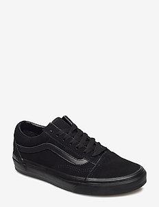 UA Old Skool - lav ankel - (suede)black/black/black