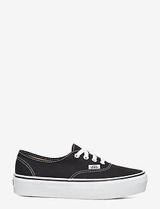 UA Authentic Platform 2.0 - lage sneakers - black