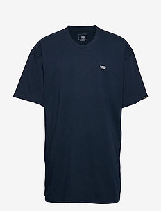 LEFT CHEST LOGO TEE - sportoberteile - navy/white