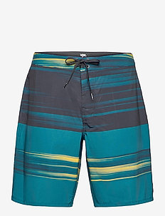 ERA BOARDSHORT 19 - boardshorts - black/moroccan blue