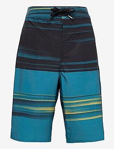 ERA BOARDSHORT 18 BOYS - sport shorts - black/moroccan blue
