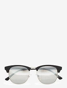 DUNVILLE SHADES - briller - matte black/silver mirror