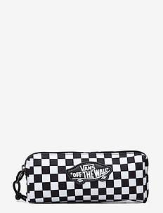 OTW PENCIL POUCH BOYS - kassit & pienet laukut - black/white check